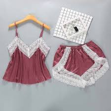<b>Sexy Womens</b> Sleep Pajamas Robe Sleepwear <b>Lace Nightdress</b> ...