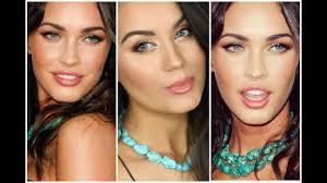 bronzed glowing natural glam megan fox inspired makeup tutorial makeupbygio you