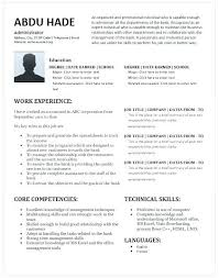 Medical Administrator Resume Excellent Format For Office ...