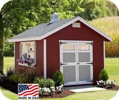 ez fit homestead 10x10 wood storage shed kit