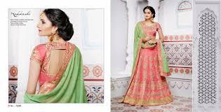 Designer Lehenga Catalogue Nakkashi Ethnic Essence Collection Bridal Wear Lehenga