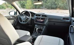 2018 volkswagen tiguan interior.  tiguan function takes precedence over form within the 2018 tiguan cabin laid  out in logical order and controls generally easy to find use and volkswagen tiguan interior