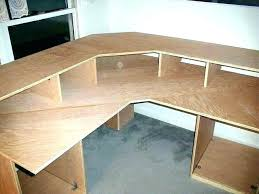 fine corner desk plans computer furniture and projects best building build a benefits woodworking