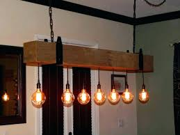 light chandeliers style pendant design magnificent reclaimed wood beam chandelier with bulb globes edison vintage lights