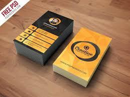 Free Psd Business Card Templates Creative Agency Business Card Template Free Psd