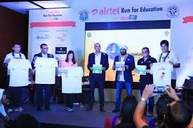airtel round table india announces the launch of airtel run for education 2016