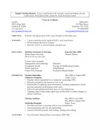 Nurse Resume Template Free Er Templates Registered Sample Graduate