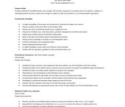 Sample Nursing Case Manager Resume Unique Free Federal Resume Sample  From Resume Prime