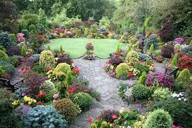 english garden design. English Backyard Beautiful Garden Flower Cottage Design