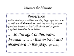 edna hobbs s shop teaching resources tes measure for measure revision question formulation essay tips and quotes