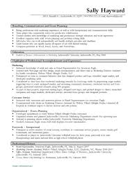 Resumes And Cover Letters - The Ohio State University Alumni throughout Event  Staff Job Description Resume