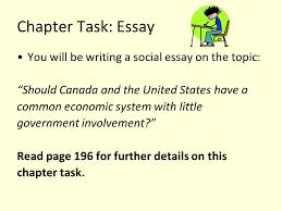 chapter to what extent do different economic systems affect 6 chapter task essay