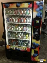 Used Drink Vending Machines For Sale Impressive Dixie Narco BevMax Glassfront Used Soda Vending Machine For Sale