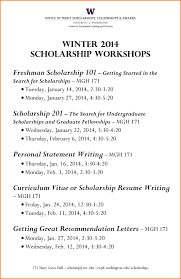 11 College Scholarship Resume Template Graphic Resume