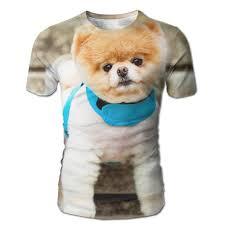 Amazon Com Dimannu Mens T Shirt Pomeranian Dog Clothes