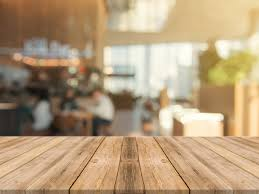 table top. Wooden Board Empty Table Top On Of Blurred Background. Free Photo D
