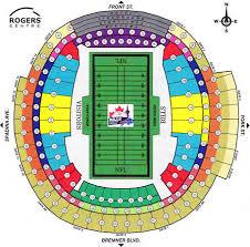 Rogers Stadium Toronto Seating Chart Rogers Centre Toronto Ontario Bob Busser
