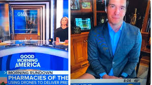 She saw a lump on my neck. This Abc Reporter Actually Didn T Wear Pants Nerdist