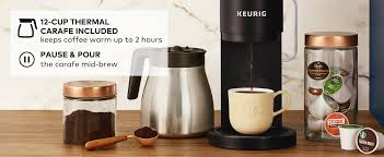 Keurig Model Comparison Chart Keurig K Duo Plus Coffee Maker Single Serve And 12 Cup Carafe Drip Coffee Brewer Compatible With K Cup Pods And Ground Coffee Black