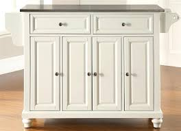 stainless steel top kitchen island in white cart stainless steel top kitchen island in white cart