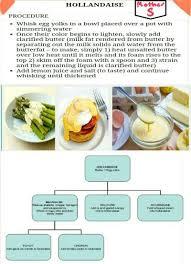 Mother Sauce Hollandaise Sauce Sauces Chef Recipes