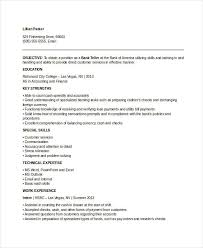 Pay For A Resumes Banking Resume Samples 46 Free Word Pdf Documents