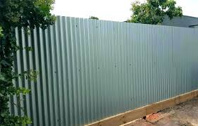 corrugated metal privacy fence steel image of grey meta corrugated metal privacy fence