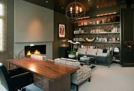 basement office design. Simple Design Basement Office Interior Design With