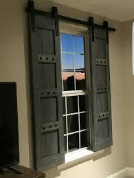 exterior shutters las vegas. rustic wooden shutters - barn window treatments www.woodennail.etsy.com exterior las vegas