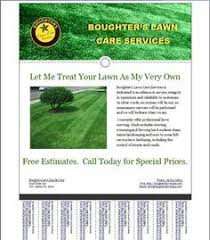 Sample Flyers For Landscaping Business Lawn Care Advertising Magdalene Project Org
