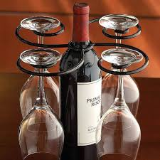 wine glass and bottle holder glasses for caravans
