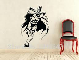 superhero wall decals comics art batman wall decal superhero wall sticker home decoration any room waterproof