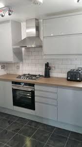 White Grey Kitchen Modern Wall Tiles Modern Home Interior