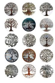 Tree Of Life Metal Collage Sheet 1 Inch Bottle By Shadowdancer2