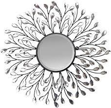 Image Template Craft Image Unavailable Amazoncom Amazoncom Lulu Decor Decorative Crystal Metal Vine Wall Mirror