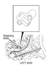 lincoln ls timing chain setting diagram engine mechanical fig 1