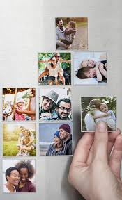 These cute magnets can be made with photos from your Instagram, camera-roll  or