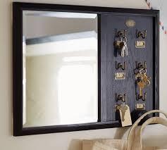mirror key holder. key holder black mirror decorpad
