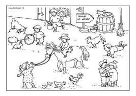 Kleuteridee Kinderboerderij