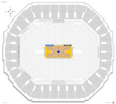 Oakland Warriors Seating Chart Oakland Arena Seating Guide Rateyourseats Com