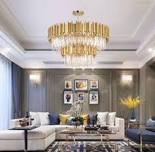 modern minimalist k9 crystal chandelier ceiling living room bedroom lighting 118