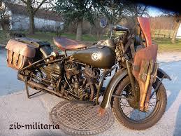 harley wla motorbike 1942