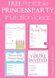Princess Invitations Free Template Princess Party Invitations Free Printable Lindamedia Info