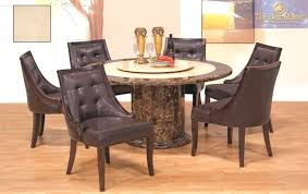 round dining table with lazy susan interior patio best for 6 top room built in round dining table with lazy susan