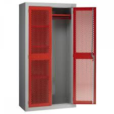 industrial storage cabinet with doors. Mesh Door Industrial Storage Cabinets With Hanging Rail Cabinet Doors I