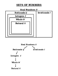 Sets Of Numbers Handout