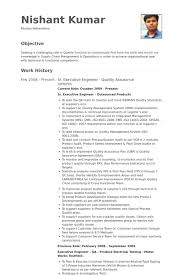 Executive Engineer Resume Samples - Visualcv Resume Samples Database