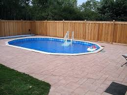 buried above ground pool for the home doughboy inground pools buried above ground pool pool doughboy