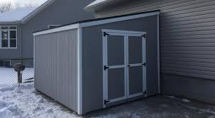 lean to sheds for canadian