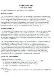 Hotel Sales Manager Job Description Sale And Marketing Resume ...